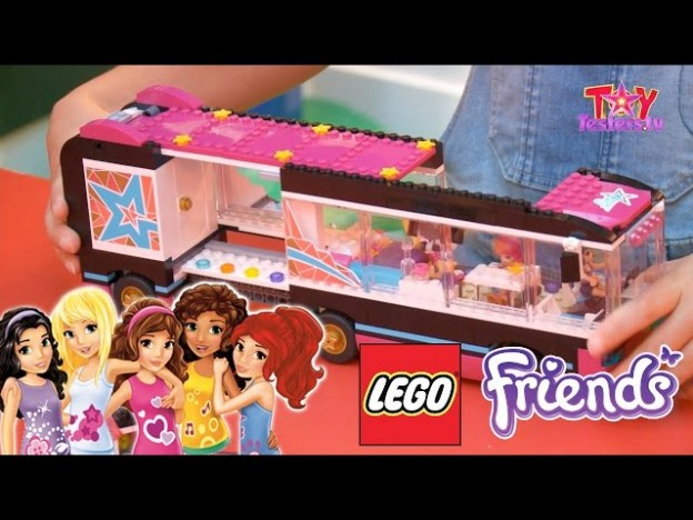 Lego Friends Pop Star Review 41106 Tour Bus 41105 Stage Game