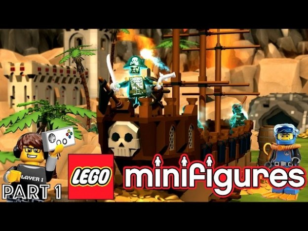 Let's Play Lego Minifigures Online Part 1 – Pack Opening | Game ...