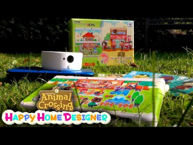 Animal Crossing Happy Home Designer 3ds Unboxing Amiibo Card How To Guide Game People Blog
