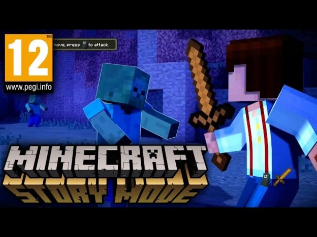 Action Auto Parts >> Minecraft Story Mode – Suitable for Over 12s (PEGI 12+) | Game People Blog