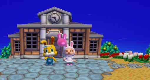 Animal Crossing 14: Easter Bunny
