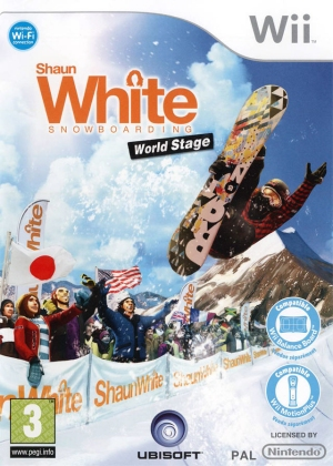 ShaunWhite Snowboarding World Stage